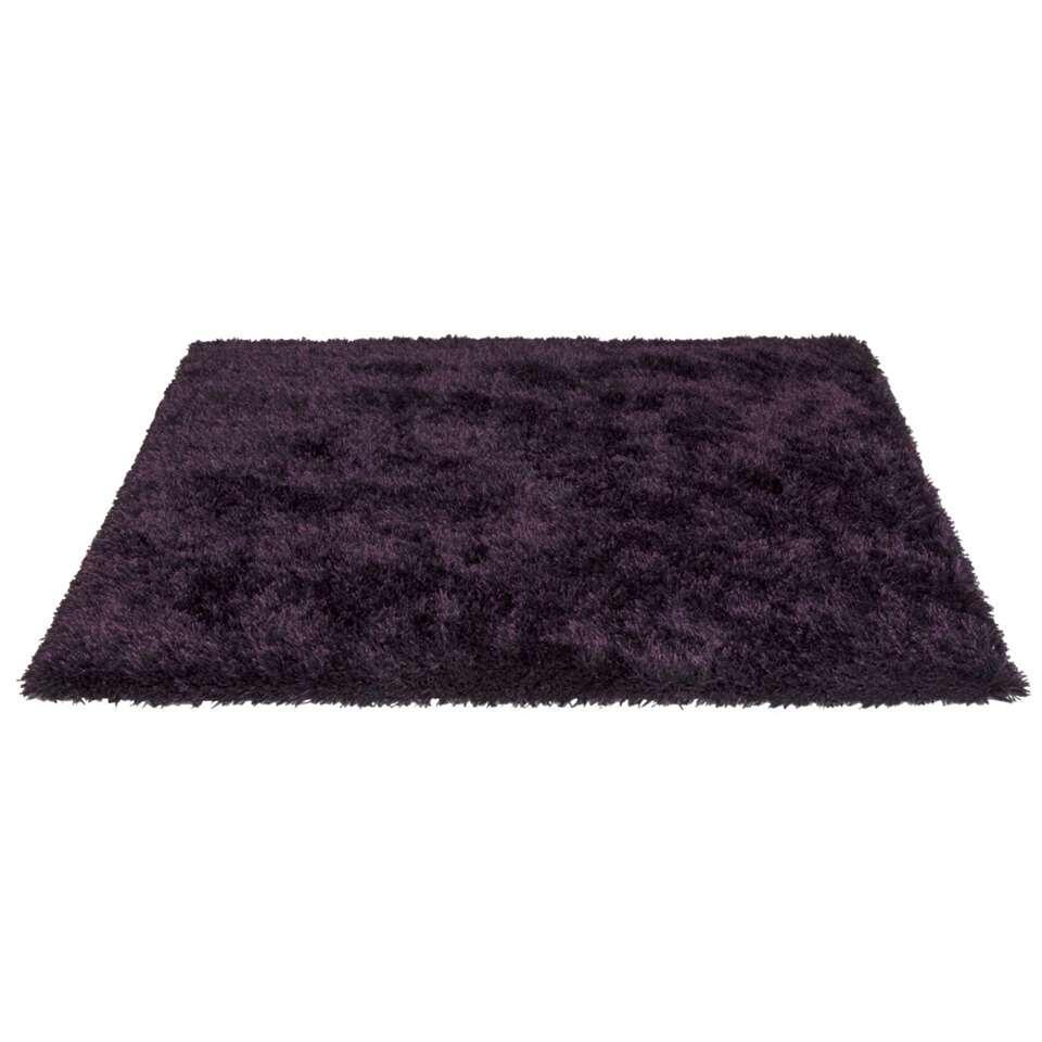tapis new york violet 160x230 cm. Black Bedroom Furniture Sets. Home Design Ideas