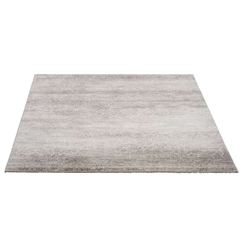tapis sevilla gris argent 160x230 cm. Black Bedroom Furniture Sets. Home Design Ideas