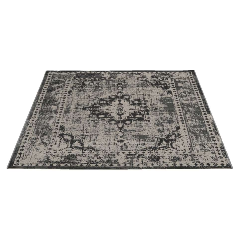 tapis vintage gris 160x230 cm. Black Bedroom Furniture Sets. Home Design Ideas