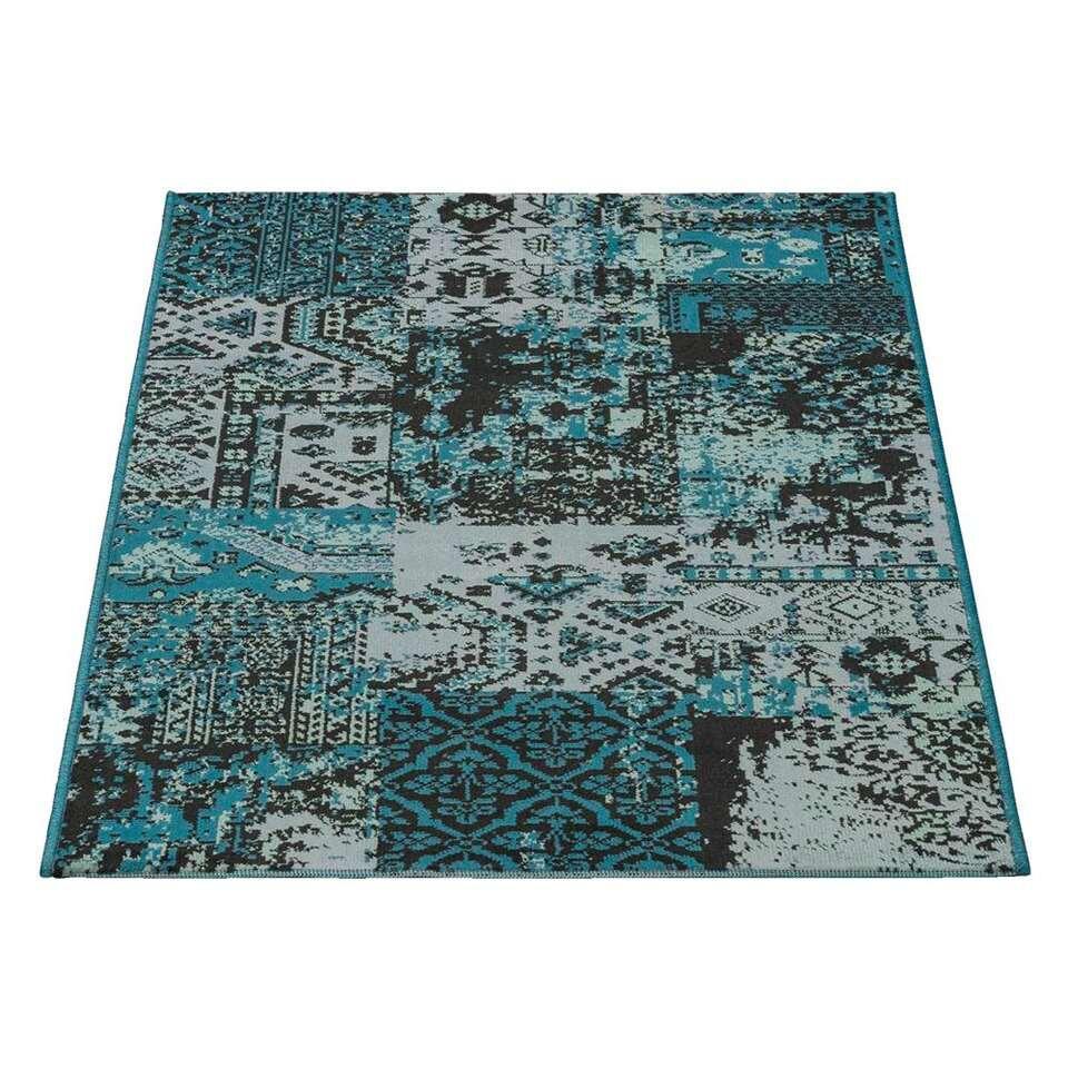 Tapijt Victory - aquablauw - 160x230 cm