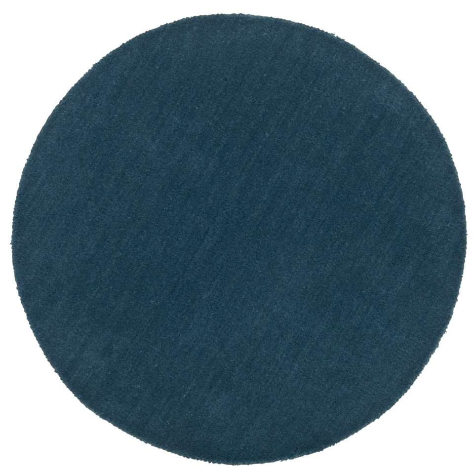 tapis colours bleu p trole 68cm. Black Bedroom Furniture Sets. Home Design Ideas