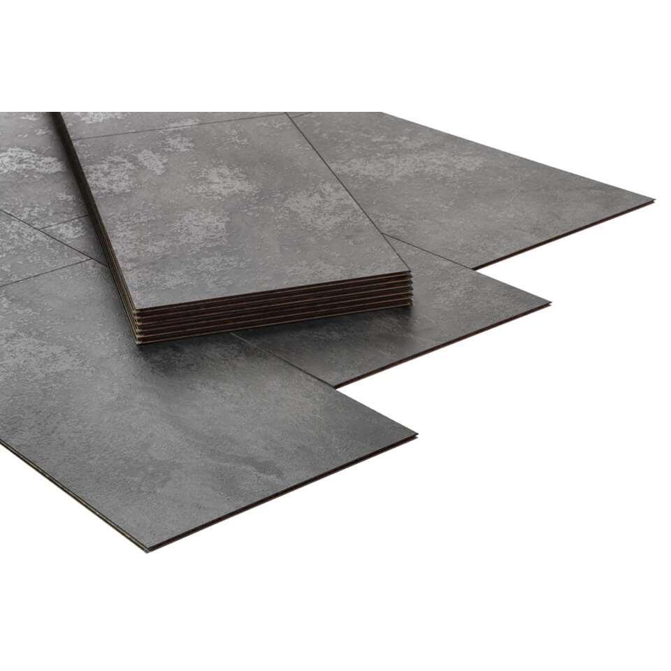 Laminaat Stone-Slate - antraciet - Leen Bakker
