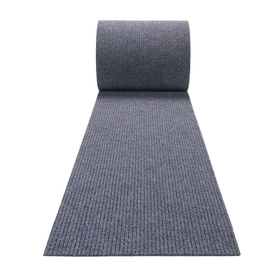 Tapis de couloir Troika - bleu denim - 67 cm