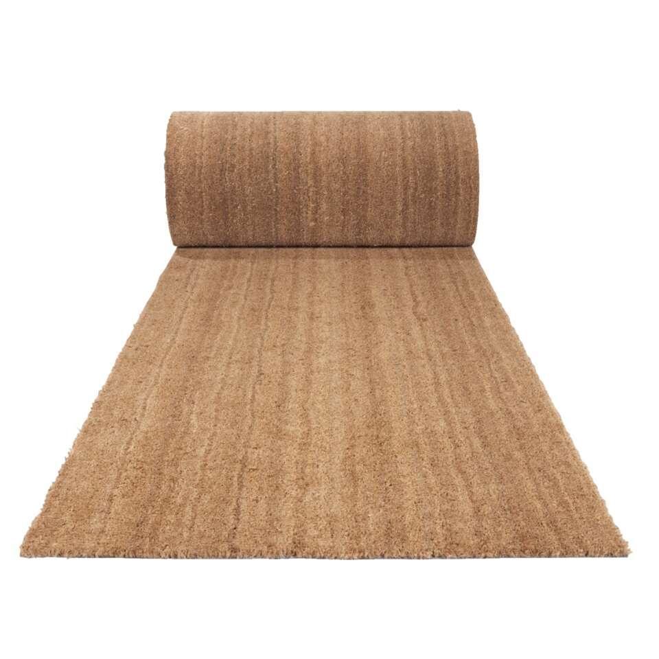 tapis de couloir elegant naturel 100 cm - Tapis Couloir