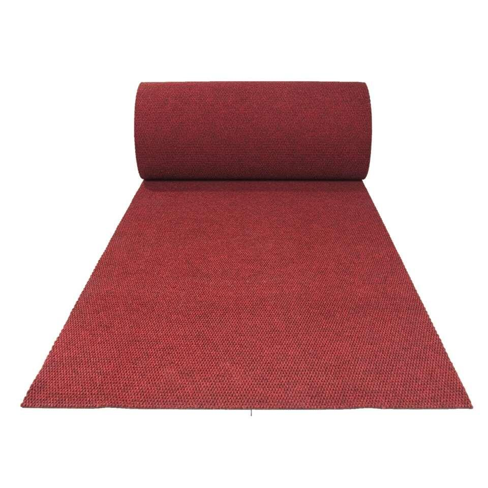 Tapis de couloir Paris - rouge - 100 cm