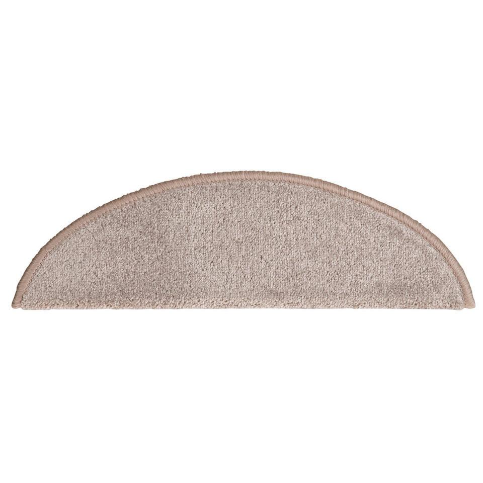 Trapmatten Masterstep zijn zelfklevende matten geschikt voor een trap. Deze matten hebben een elegante, tijdloze taupekleur. Er zitten 16 stuks in één pak. Deze zijn gemaakt van 100% polypropyleen.