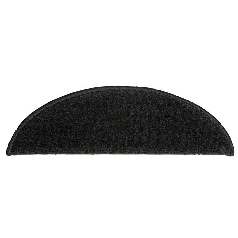 Trapmat Masterstep in de kleur zwart heeft een uitstekende prijs-kwaliteitverhouding. De halve maantjes hebben een afmeting van 20x56 cm en zijn eenvoudig zelf te monteren door middel van de plakstrip op de achterkant.