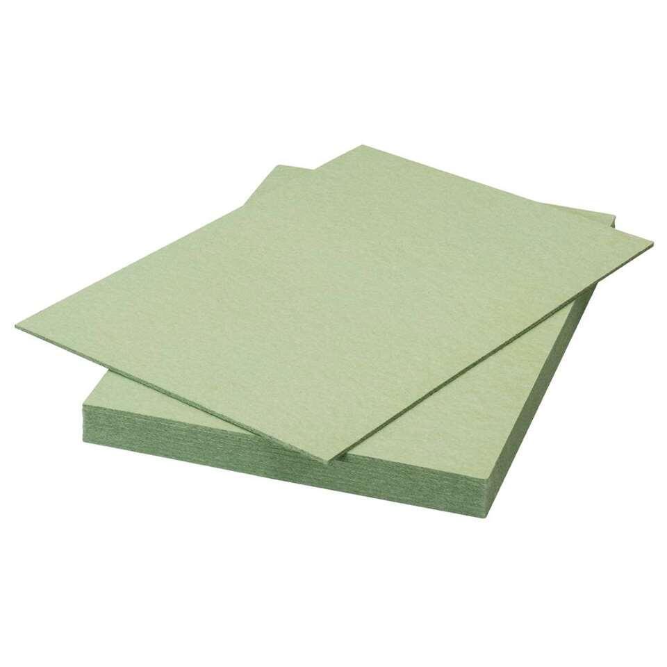 Ondervloer Calypso - softboard - groen - 7,52 m