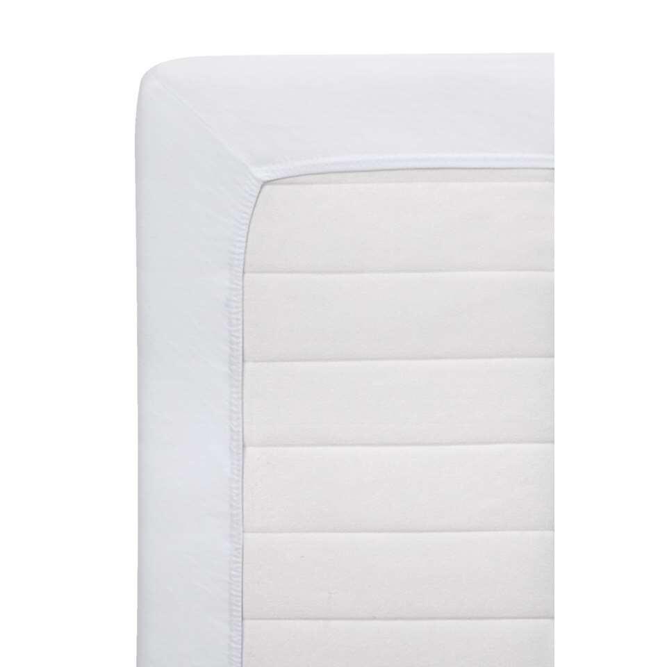 Dit hoeslaken is heel makkelijk en mooi strak om u matras te doen dankzij de ingenomen hoeken en elastieken randen. Verder is het gemaakt van een uitstekende kwaliteit katoen! Een goede nachtrust is gegarandeerd!