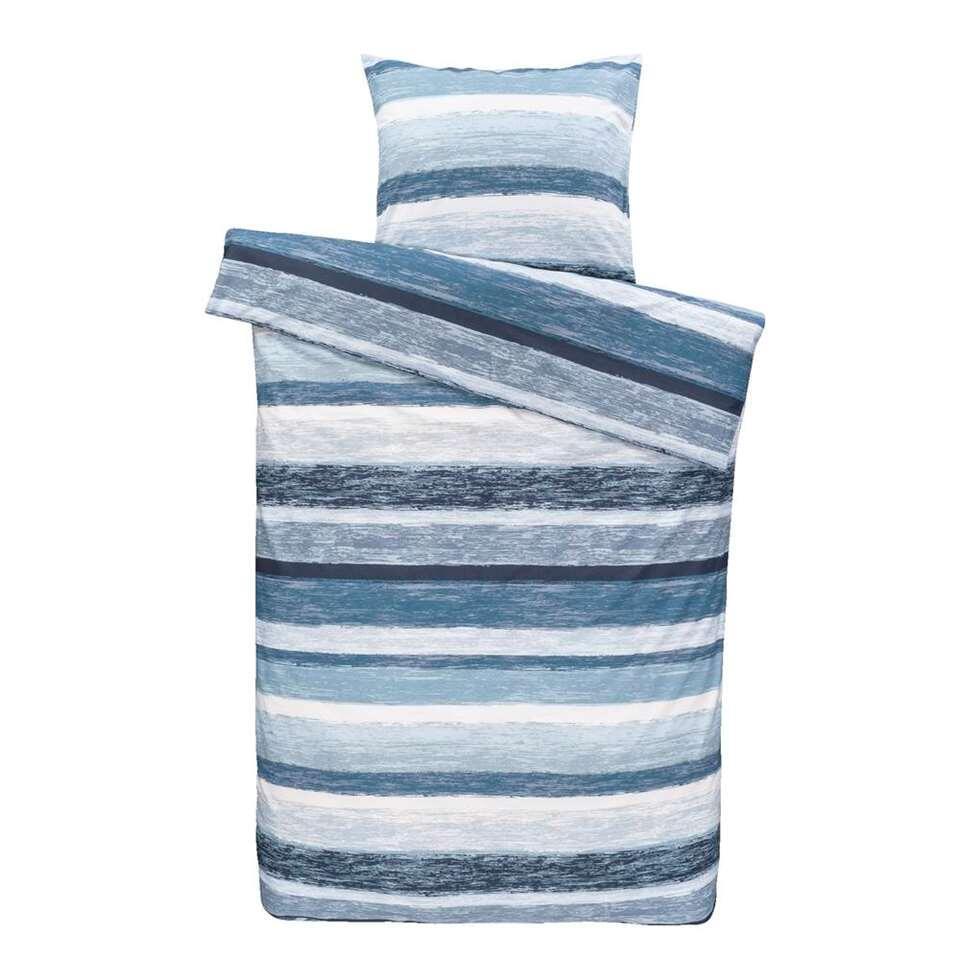 Comfort dekbedovertrek Matthew - blauw - 140x200 cm