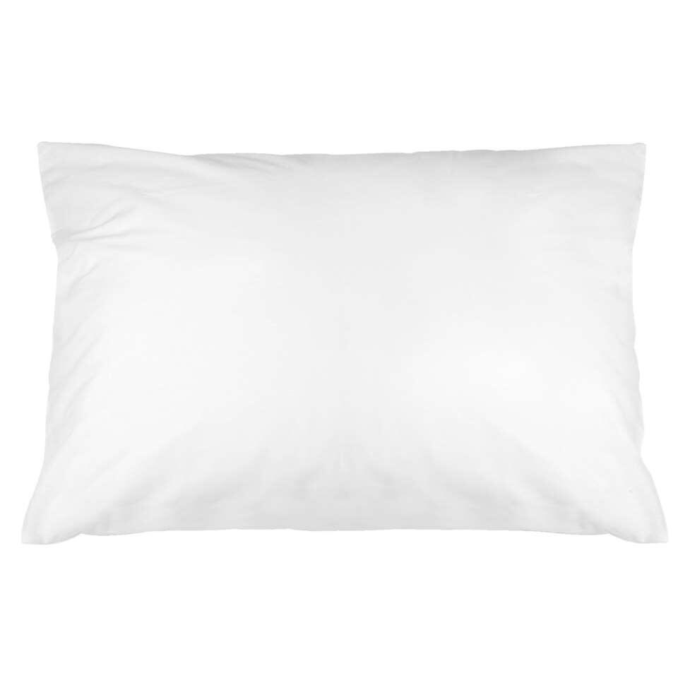 Complétez votre intérieur avec ces taies d'oreiller blanches en coton doux.