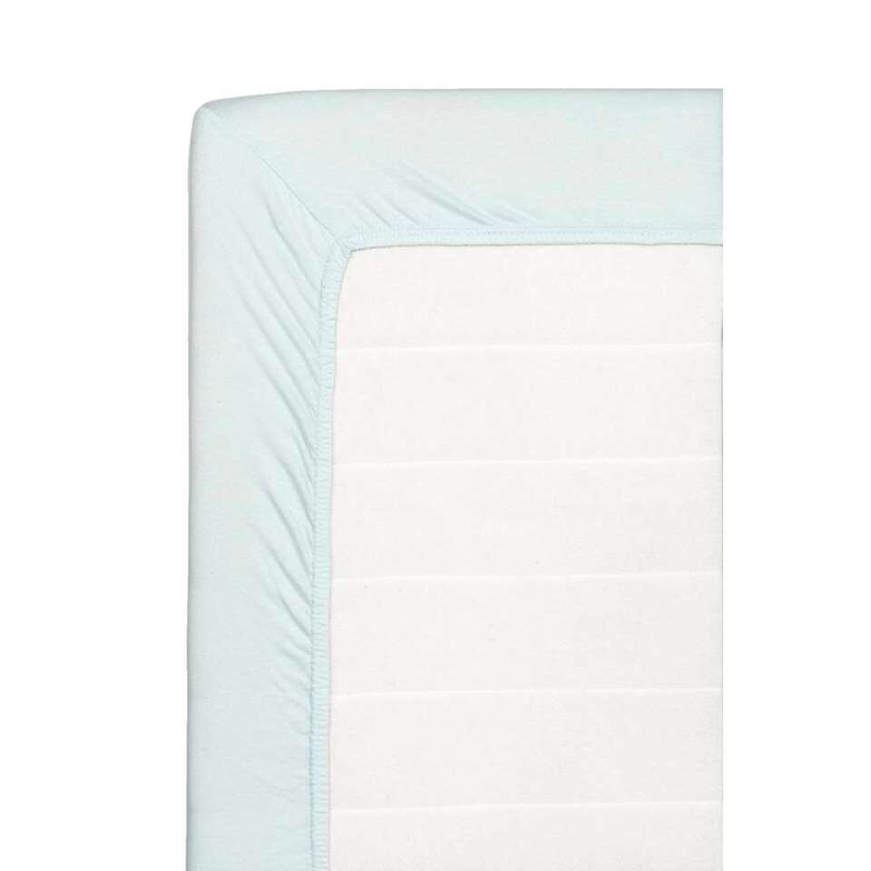 Hoeslaken Jersey - lichtblauw - 70x150 cm