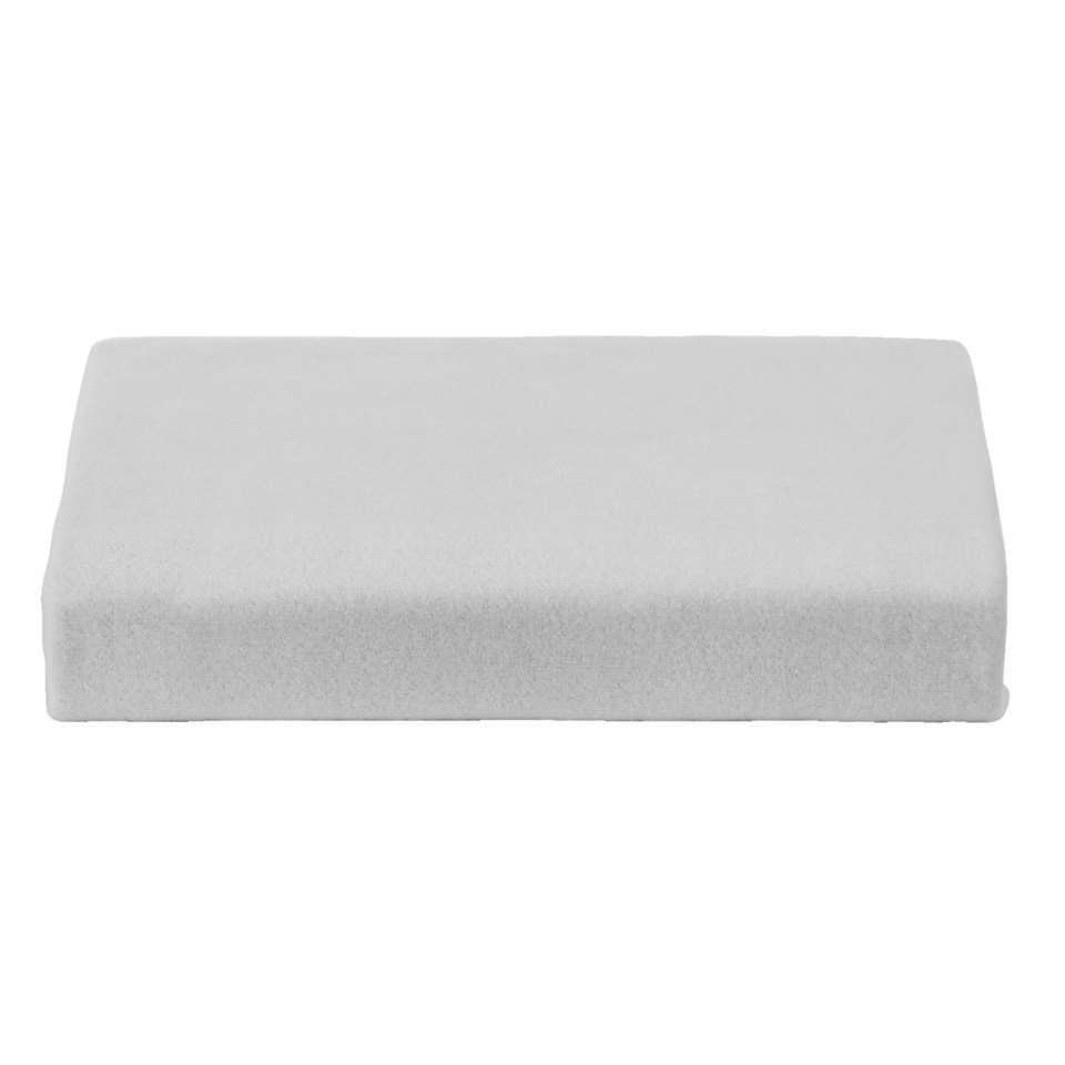 Zachte molton in hoeslakenmodel van zware kwaliteit. Perfect om uw matras mee te beschermen. Erg zacht, ideaal voor een zorgeloze nachtrust.