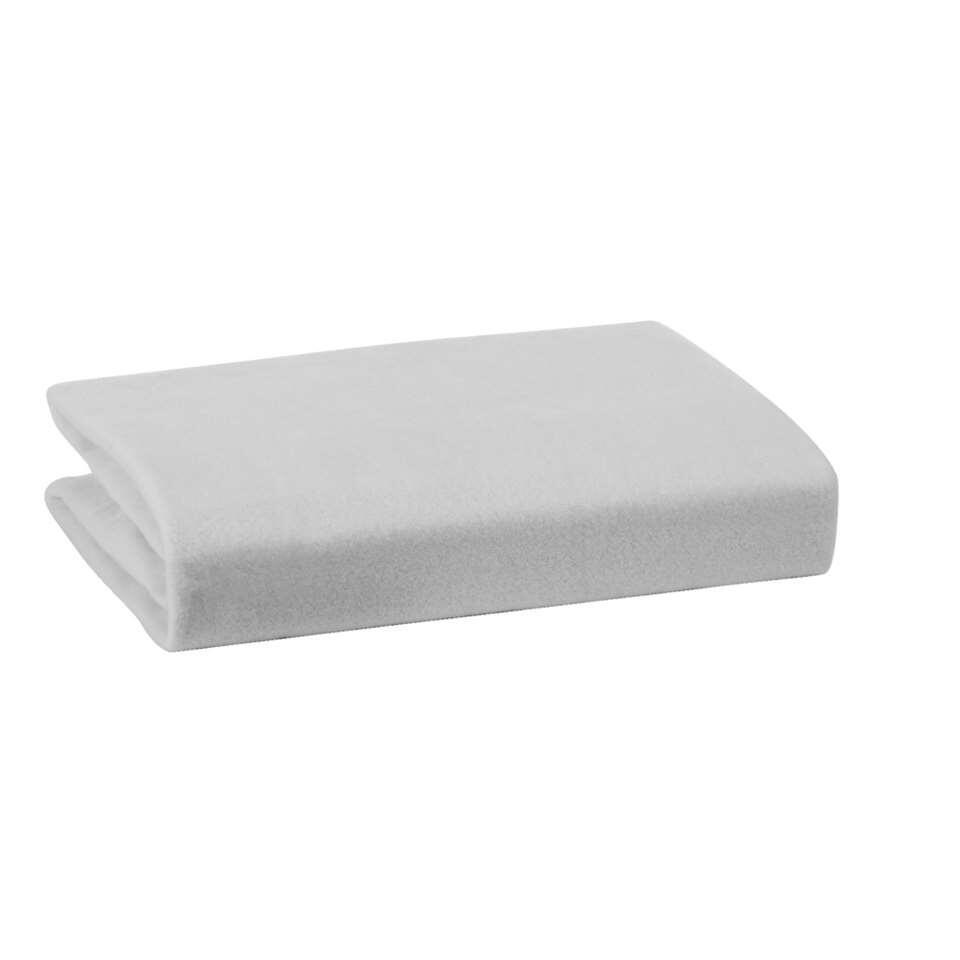 Zachte molton in hoeslakenmodel van zware kwaliteit. Perfect om uw matras te beschermen. Zalig zacht, ideaal voor een zorgeloze nachtrust. Deze molton is gemaakt van 100% katoen en is geschikt voor een matrasdikte van maximaal 23