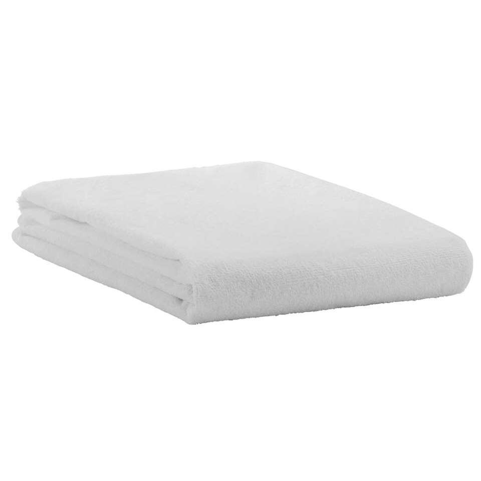 Protège-matelas imperméable en tissu éponge - blanc - 80x200 cm