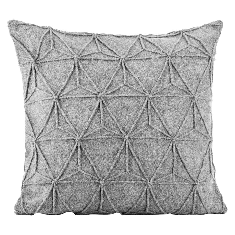 Sierkussen Toulouse - grijs - 45x45 cm