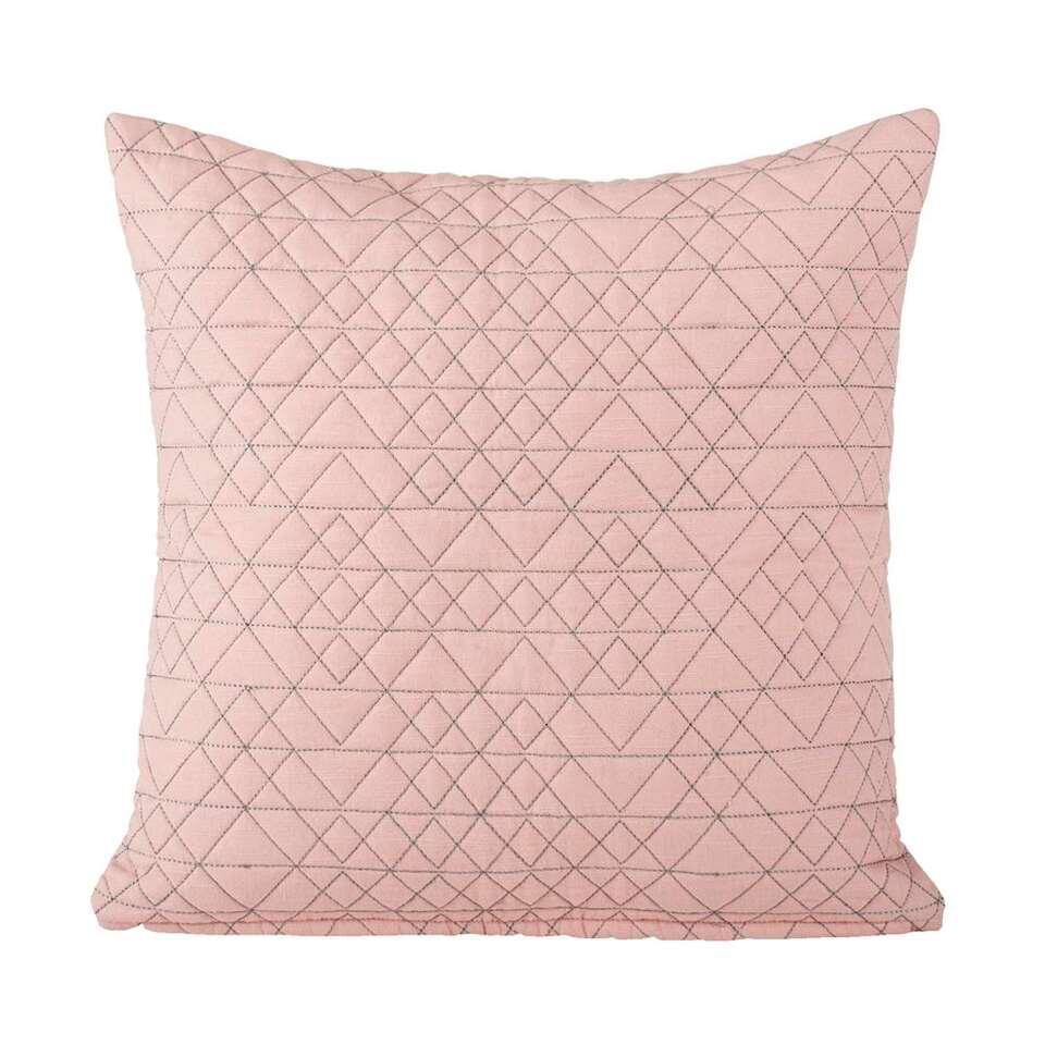 sierkussen matteo roze 45x45 cm