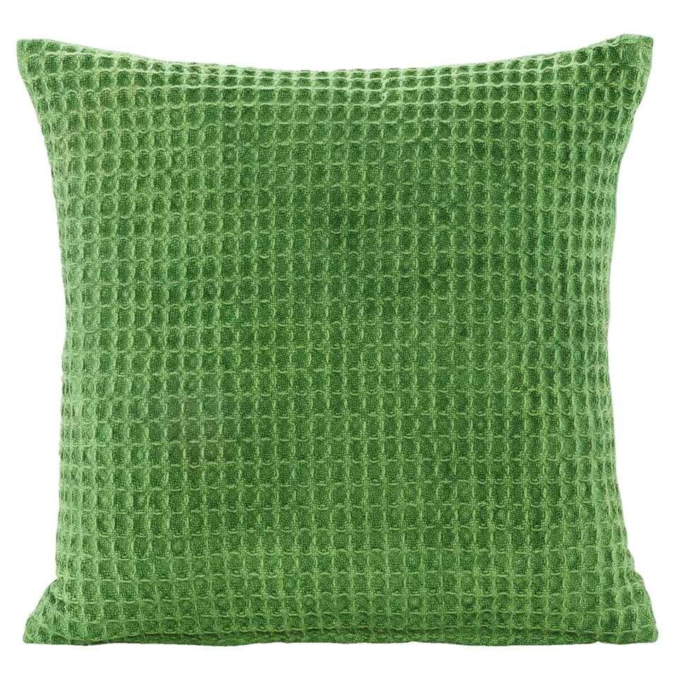 Coussin décoratif Jason - vert - 45x45 cm on