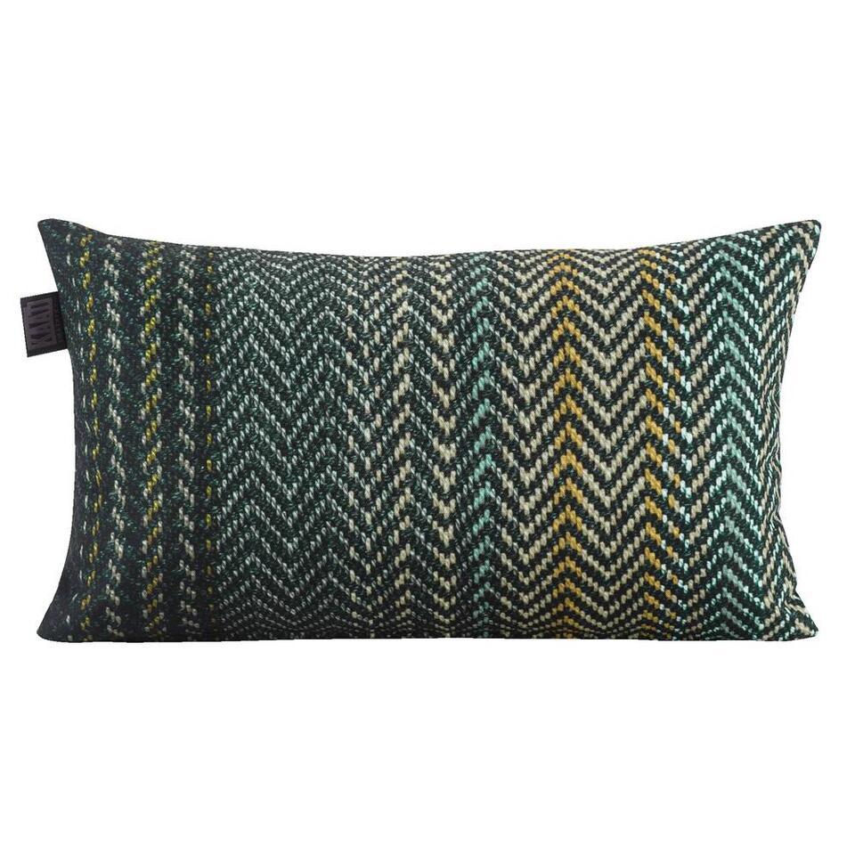 Sierkussen Platanar Kaat - groen - 30x50 cm