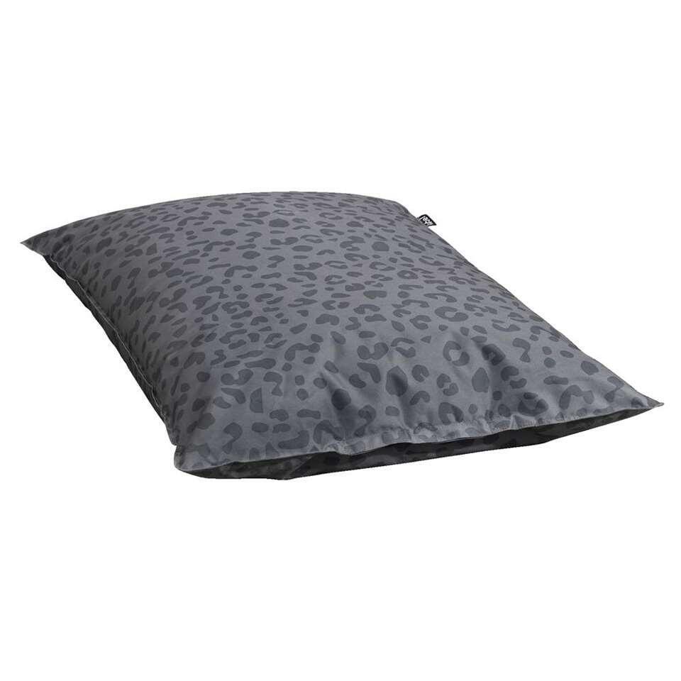 Lebel siège-poire Léopard - couleur anthracite - 100x150 cm