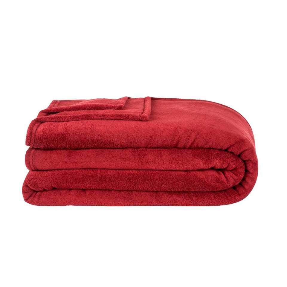 Rode Fleece Deken.Plaid Of Fleece Deken Kopen Bekijk Ons Leuke Assortiment