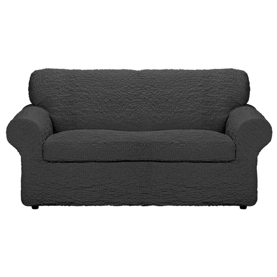 Met deze meubelhoes Josefien 2-zits zorgt u ervoor dat uw zetel of fauteuil niet beschadigd wordt. De hoes heeft een antracietkleur en is gemaakt van katoen, polyester en elastaan.
