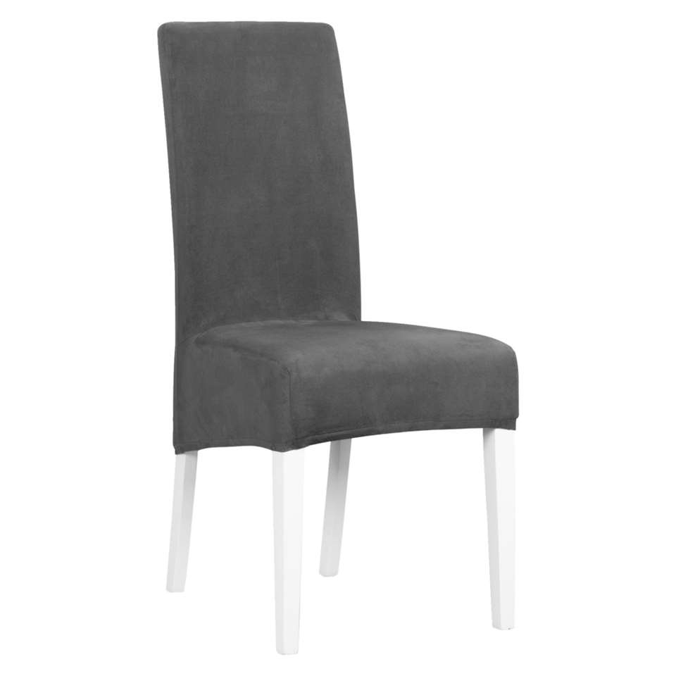 Housse de chaise Manon - anthracite