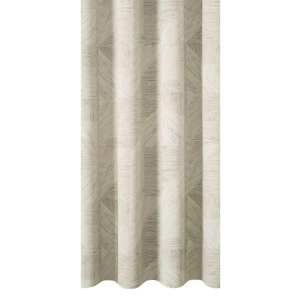 tissu pour rideaux leeds gris clair. Black Bedroom Furniture Sets. Home Design Ideas