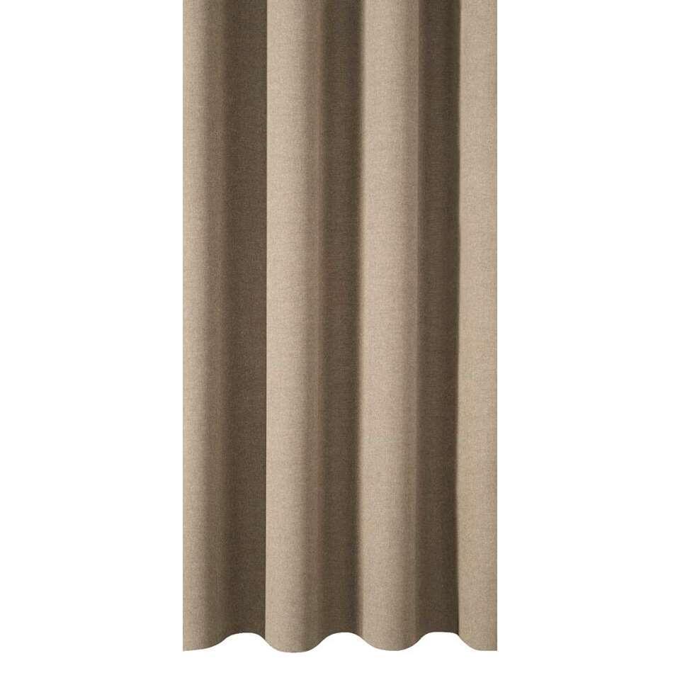 tissu pour rideaux ribe couleur de sable. Black Bedroom Furniture Sets. Home Design Ideas