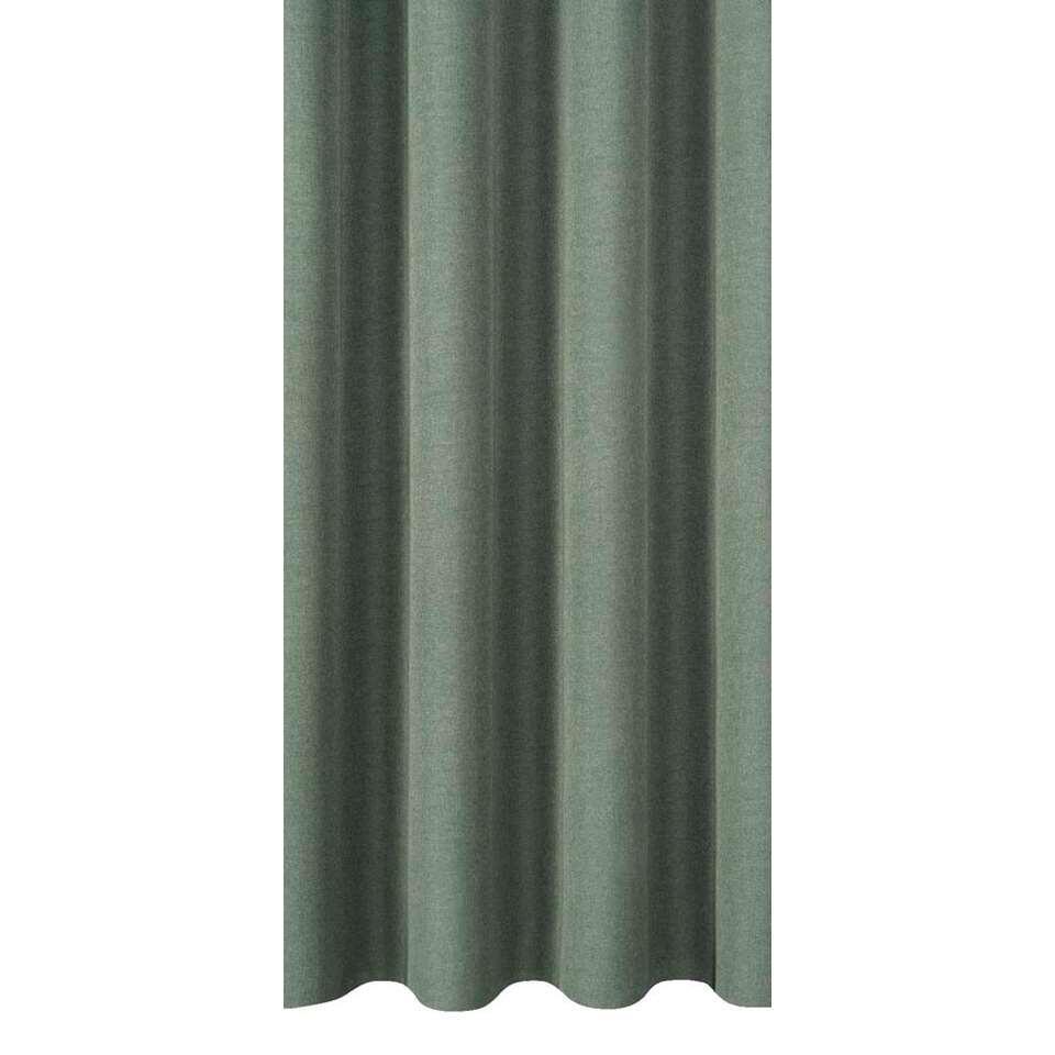 tissu pour rideaux ribe vert. Black Bedroom Furniture Sets. Home Design Ideas