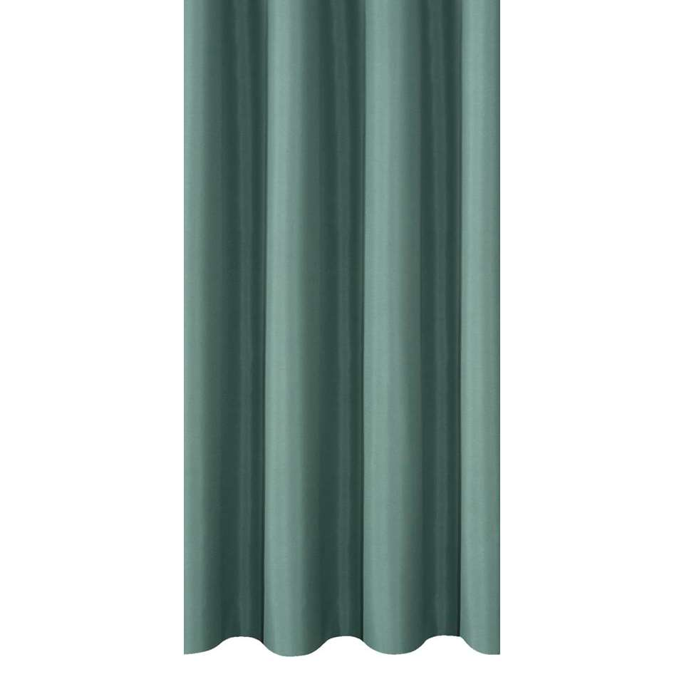 tissu pour rideaux marnix bleu p trole. Black Bedroom Furniture Sets. Home Design Ideas