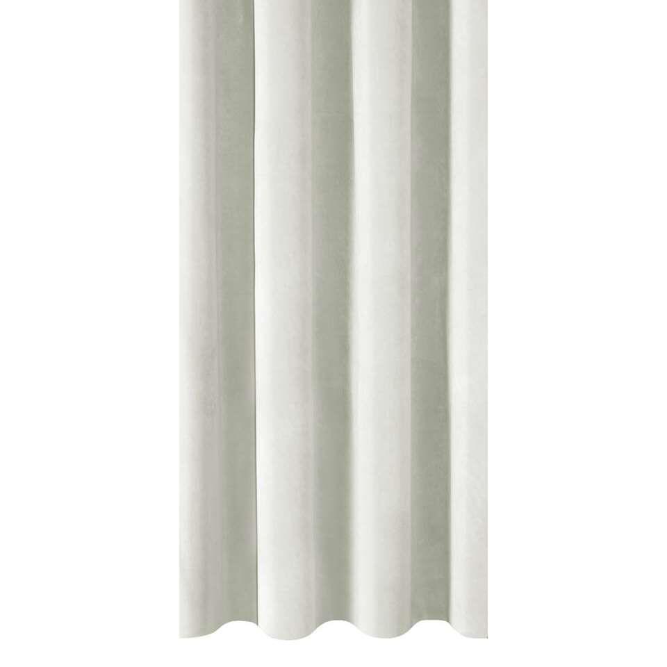 tissu pour rideaux coco blanc cass. Black Bedroom Furniture Sets. Home Design Ideas