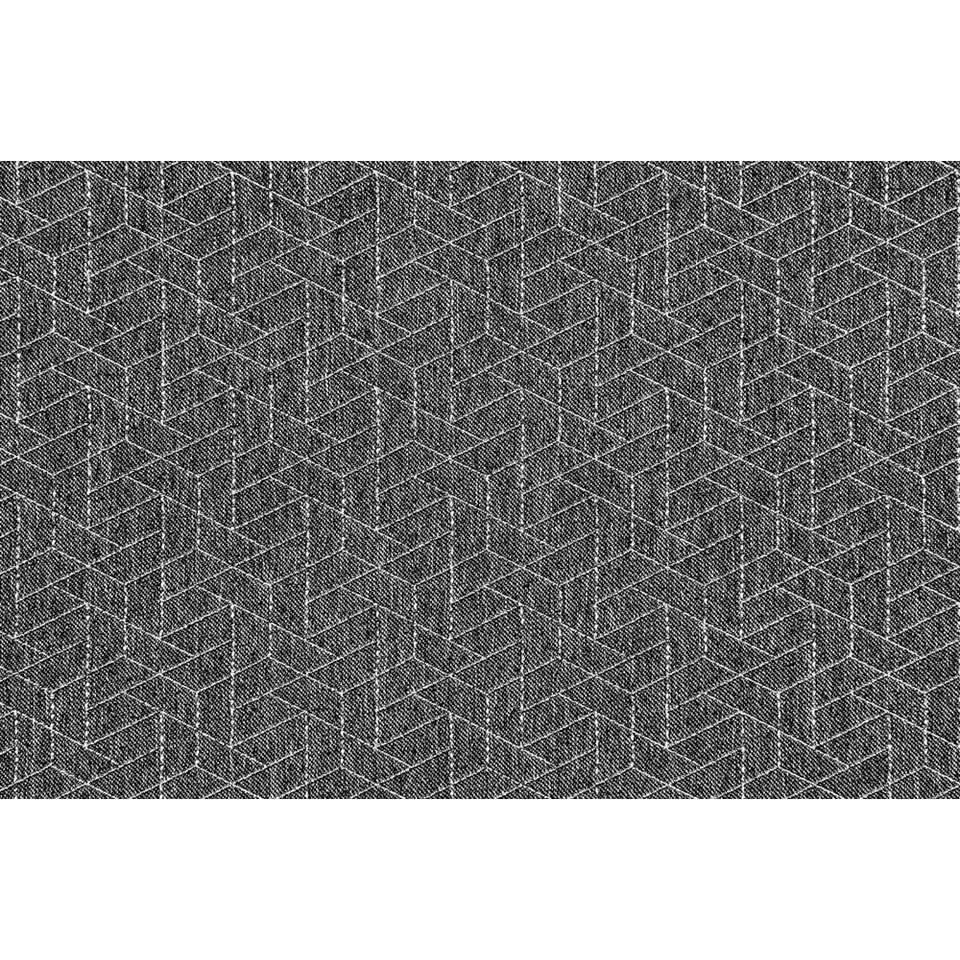 tissu pour rideaux nice anthracite blanc argent. Black Bedroom Furniture Sets. Home Design Ideas