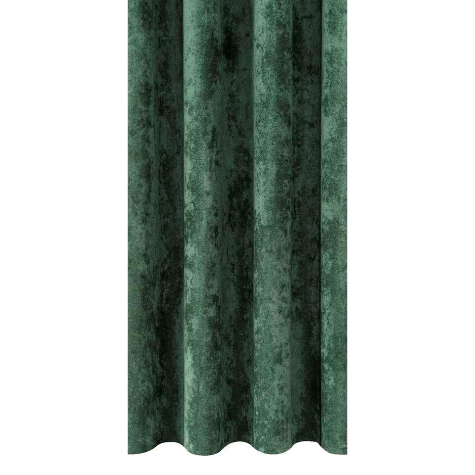 tissu pour rideaux odille vert fonc. Black Bedroom Furniture Sets. Home Design Ideas