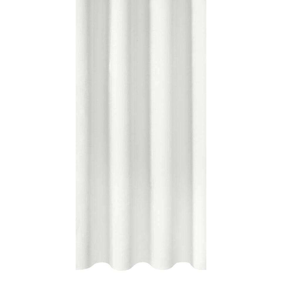 tissu pour rideaux victor blanc. Black Bedroom Furniture Sets. Home Design Ideas