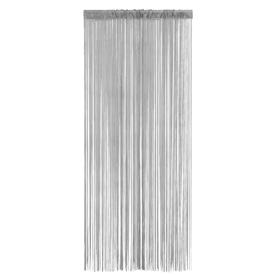 Rideau de porte Alessio - gris - 90x200 cm (1 pièce)