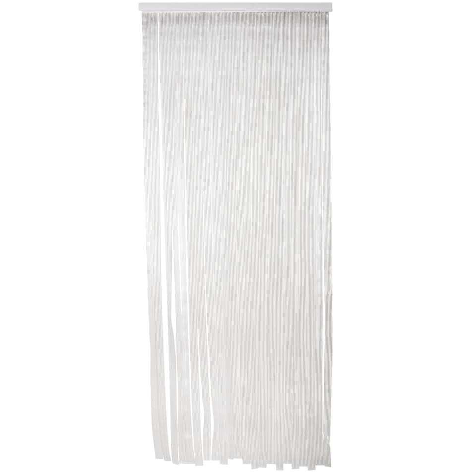 Rideau de porte saba transparent 220x90 cm - Rideau de porte exterieur plastique ...