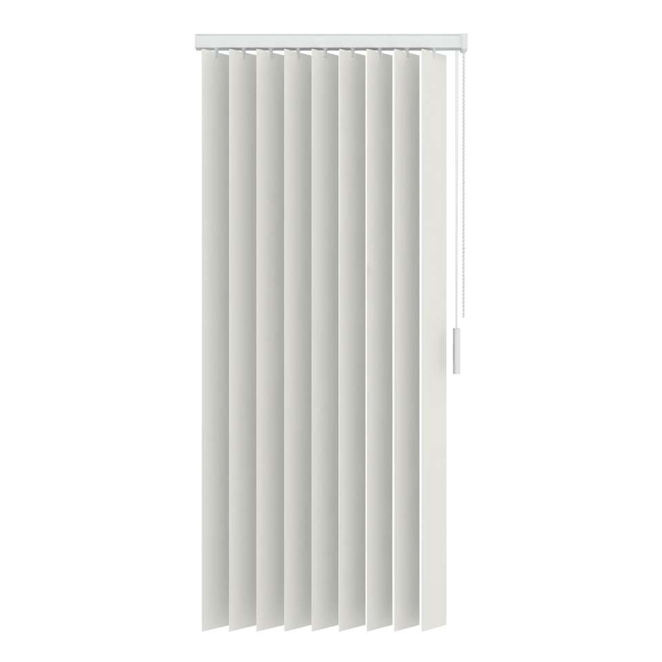 lamelles verticales pvc occultant 89 mm blanc cass. Black Bedroom Furniture Sets. Home Design Ideas