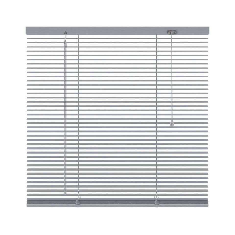Ce store vénitien horizontal en aluminium est 180x180 cm et 16 mm de large. Le maniement comprend une manivelle d'orientation et un cordon de tirage.