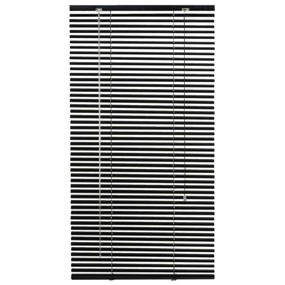 store v nitien horizontal aluminium 25 mm noir 60x130 cm. Black Bedroom Furniture Sets. Home Design Ideas