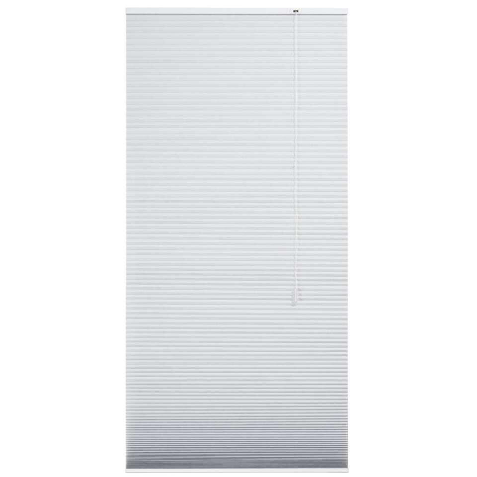 store pliss double translucide gris clair 60x180 cm. Black Bedroom Furniture Sets. Home Design Ideas