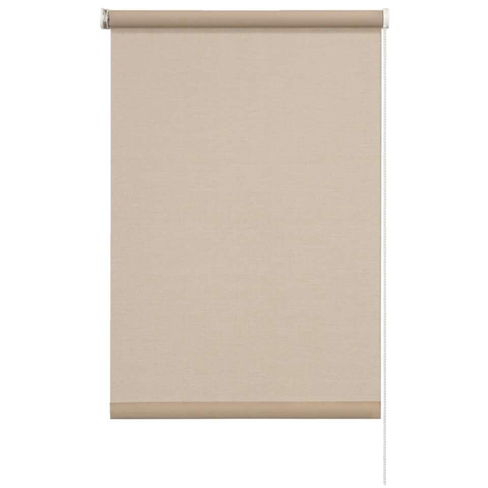 Store enrouleur translucide - couleur pisé - 60x190 cm