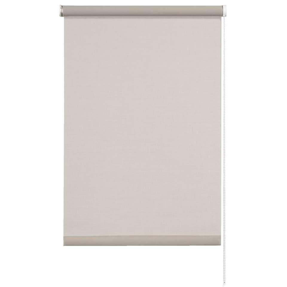Store enrouleur translucide - gris clair - 60x190 cm