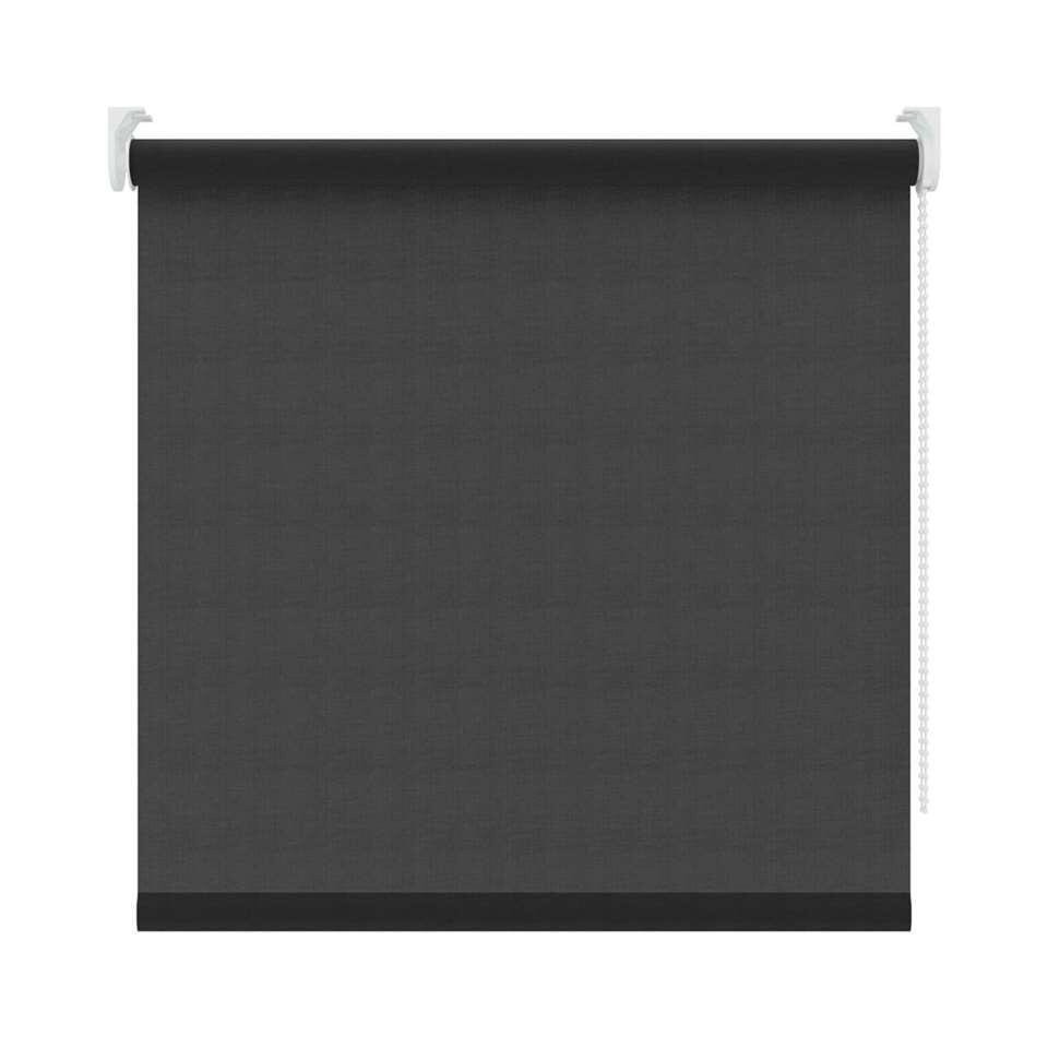 Store enrouleur translucide - noir - 60x190 cm
