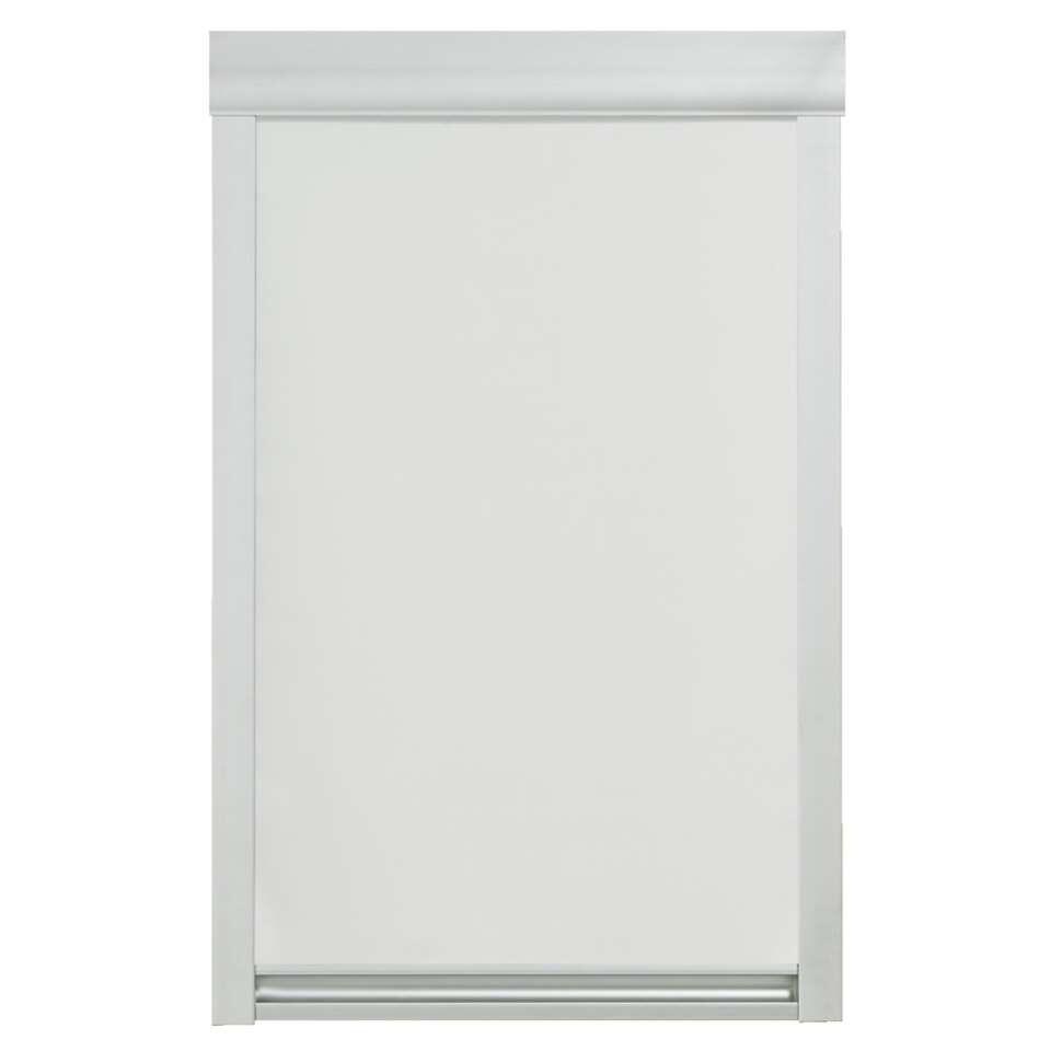 Store Enrouleur Occultant Pour Fenêtre De Toit Blanc Ck02 55x78 Cm