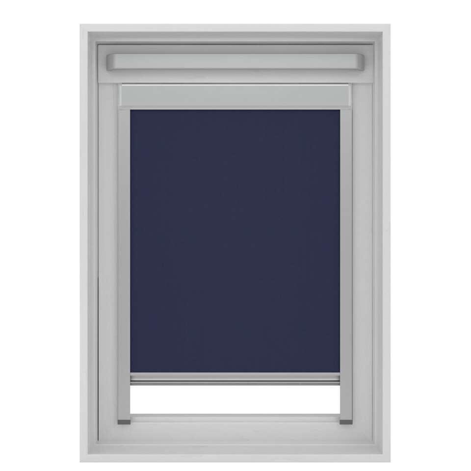 Store Enrouleur Occultant Pour Fenêtre De Toit Bleu Foncé Pk10