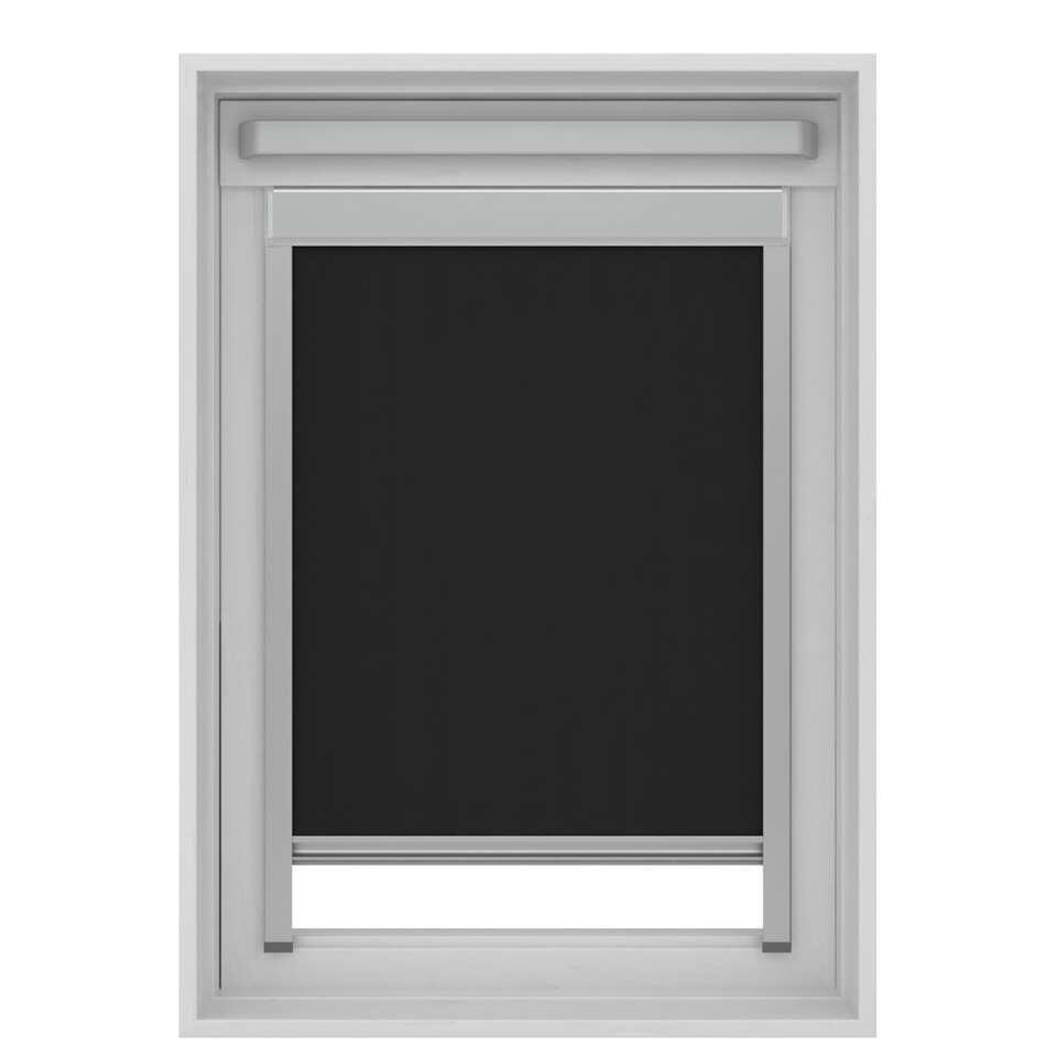 Store Enrouleur Occultant Pour Fenêtre De Toit Noir Uk08