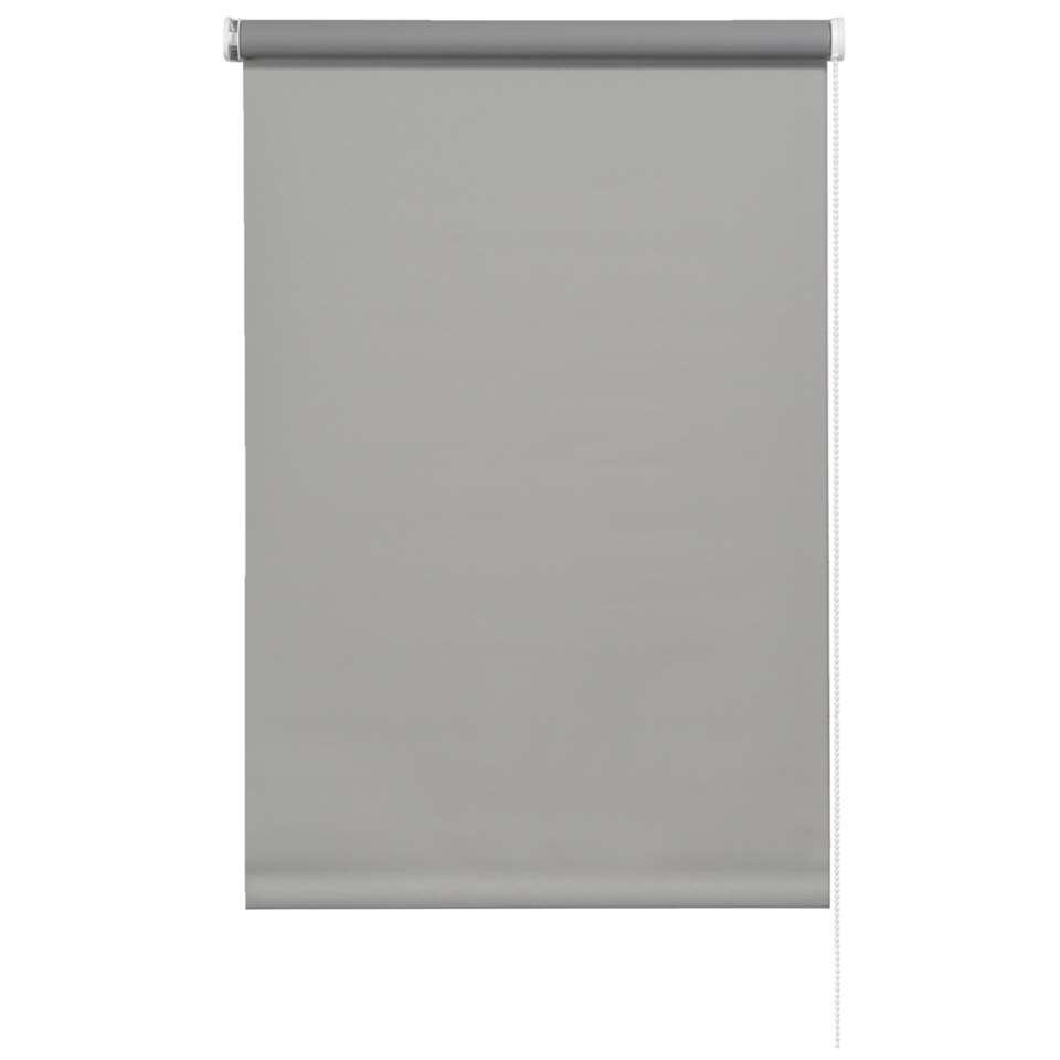 Store enrouleur occultant - gris souris - 60x190 cm
