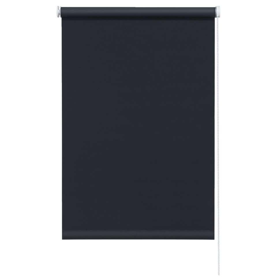 Rolgordijn verduisterend zwart 60x190 cm for Rolgordijn verduisterend