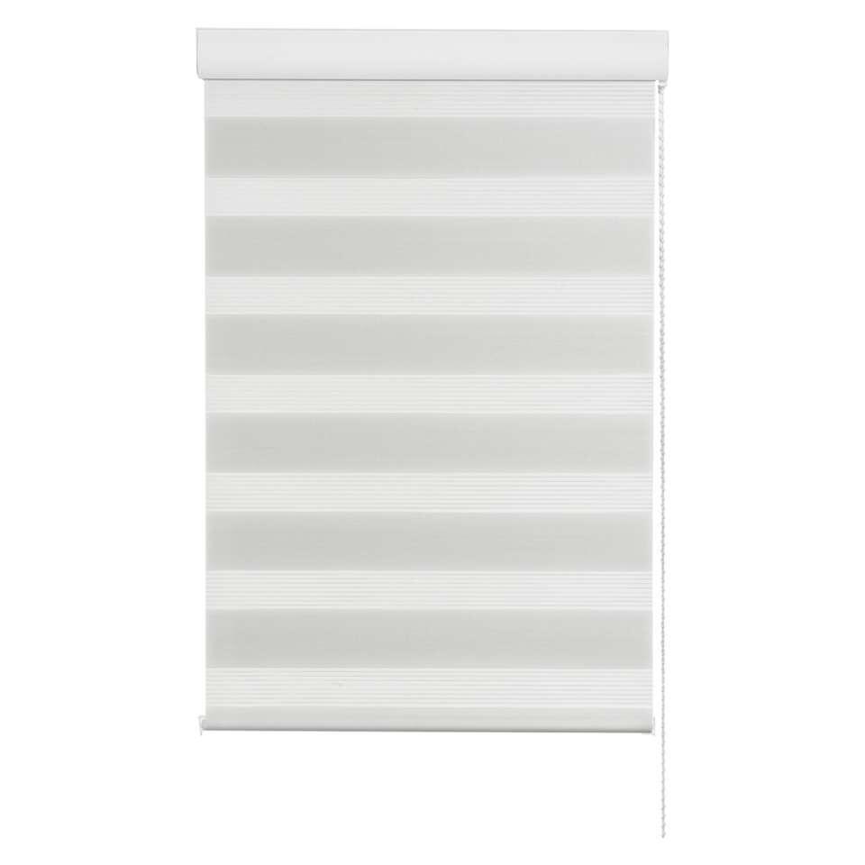 Store enrouleur jour et nuit - blanc - 60x160 cm